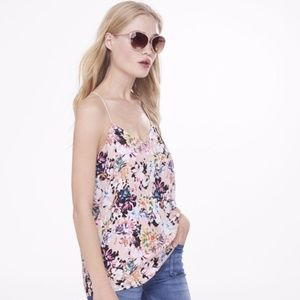 Express Tops - EXPRESS Floral Barcelona Cami Medium